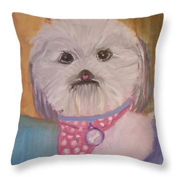 Bella Baby Throw Pillow