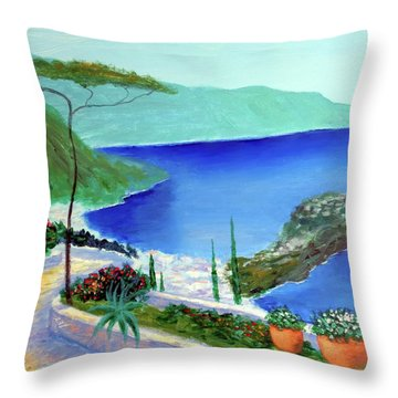 Bella Monaco  Throw Pillow