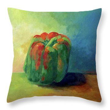 Bella Pepper  Throw Pillow