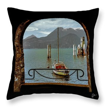 Bella Varenna - For Print Or Wrapped Canvas Throw Pillow