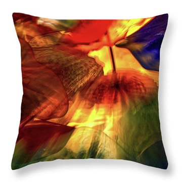 Bellagio Ceiling Sculpture Abstract Throw Pillow