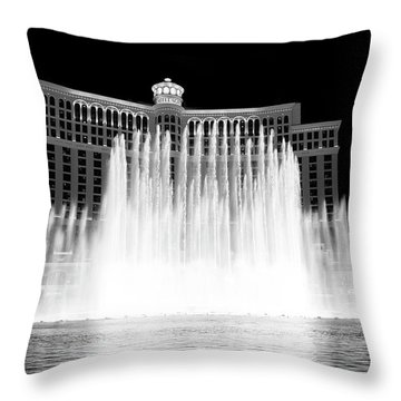 Throw Pillow featuring the photograph Bellagio by Eric Christopher Jackson