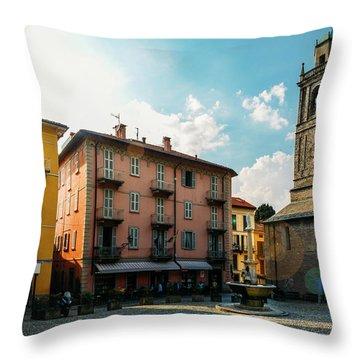 Bellagio, Lake Como, Italy. Throw Pillow