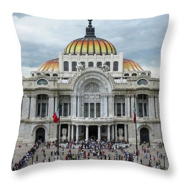 Bellas Artes Throw Pillow