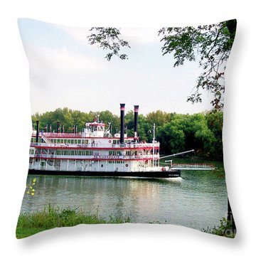 Belle Of Cincinnati  Throw Pillow