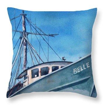 Belle Original Throw Pillow