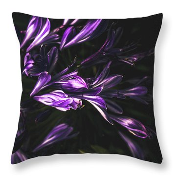 Bells And Flowers Throw Pillow