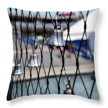 Bells Of Hope Throw Pillow