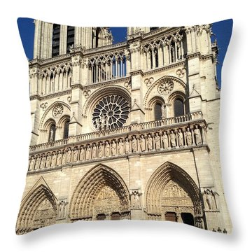 Bells Of Notre Dame Throw Pillow