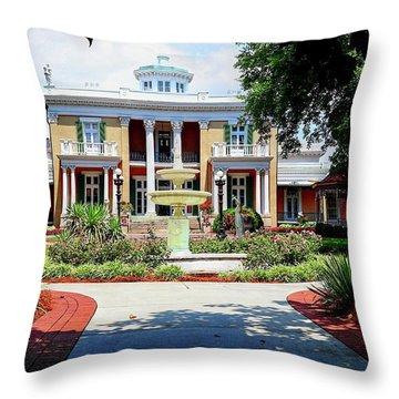 Belmont Mansion Throw Pillow