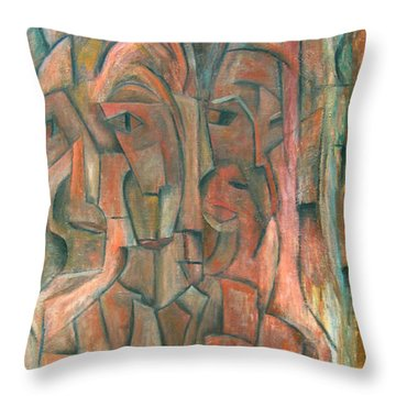 Belonging Throw Pillow by Trish Toro
