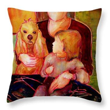 Beloved Throw Pillow by Blenda Studio