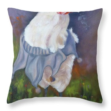 Beloved Chicken Throw Pillow