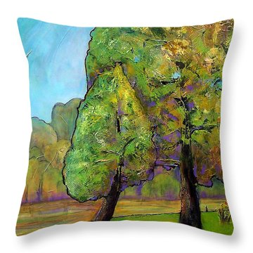 Beloved One Throw Pillow by Blenda Studio