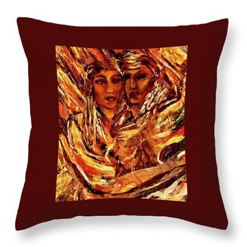 Beloved Woman Throw Pillow