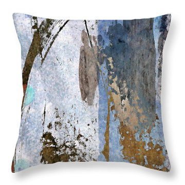 Below Sea Level Throw Pillow