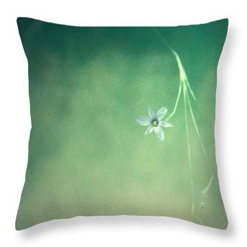 Below Summer  Throw Pillow