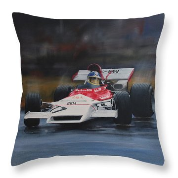 Beltoise ,monaco Gp Throw Pillow