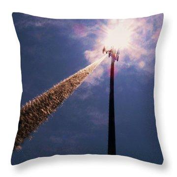 Throw Pillow featuring the photograph Beltsville by Robert Geary