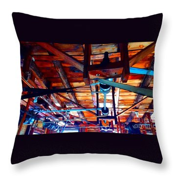 Beltworks Throw Pillow