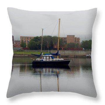 Beluga Sails  Throw Pillow