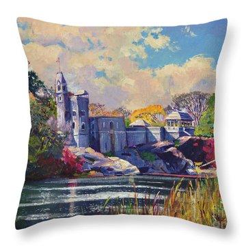 Historic Site Throw Pillows
