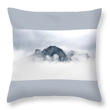 Ben Hope Through Clouds Throw Pillow