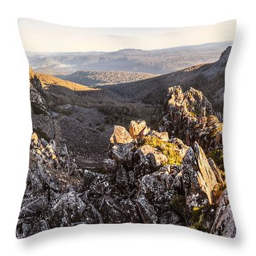 Ben Lomond National Park Throw Pillow