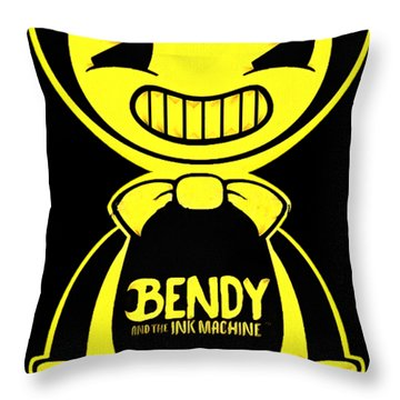 Bendy And The Ink Machine Throw Pillow