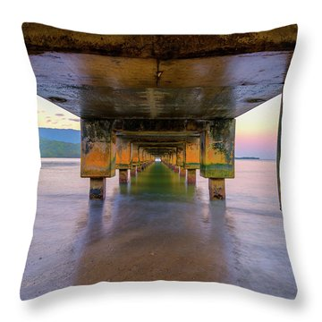Beneath Hanalei Throw Pillow