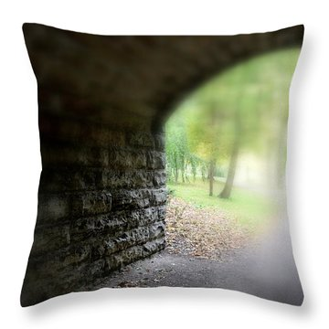 Beneath The Bridge Throw Pillow