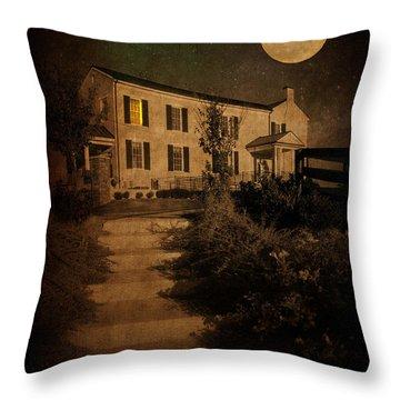 Beneath The Perigree Moon Throw Pillow