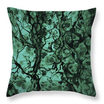 Beneath The Surface Throw Pillow by David Gordon