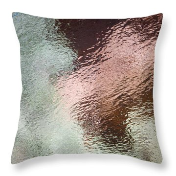 Throw Pillow featuring the photograph Lady Of The Lake by Tom Vaughan