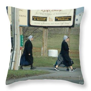 Benefit Auction Throw Pillow