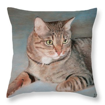 Bengal Cat Throw Pillow