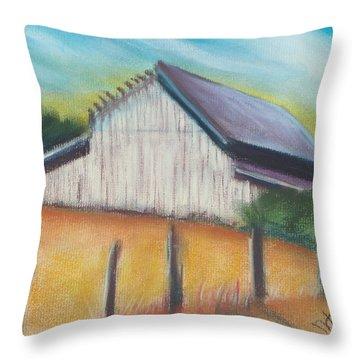 Benito Barn Throw Pillow