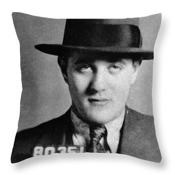 Benjamin Bugsy Siegel Throw Pillow