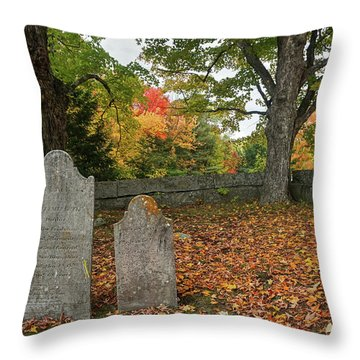 Benjamin Butler Grave Throw Pillow