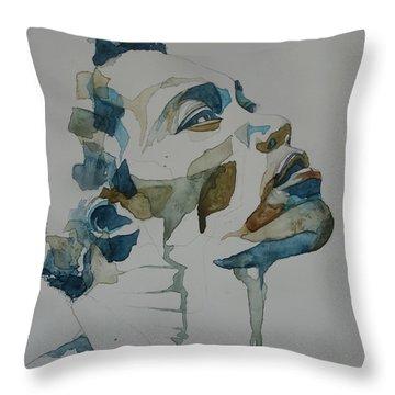 Benjamin Clementine Throw Pillow