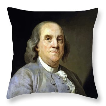Inventor Throw Pillows