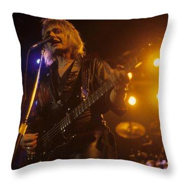 Benjamin Orr Of The Cars Throw Pillow