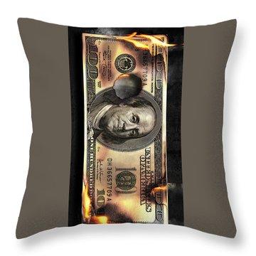 Benjis To Burn Throw Pillow