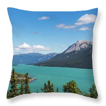 Tagish Lake Throw Pillow