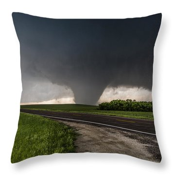 Bennington Kansas Wedge Throw Pillow