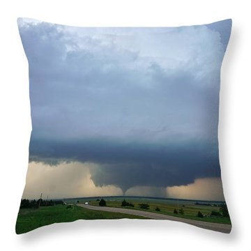 Bennington Tornado - Inception Throw Pillow