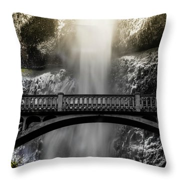 Benson Bridge Throw Pillow