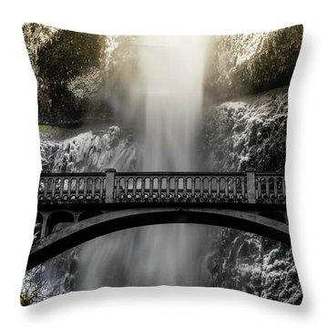 Benson Bridge Throw Pillow