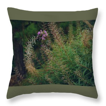 Bent  Throw Pillow