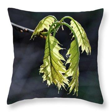 Bent On Growing - Throw Pillow